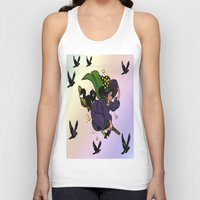 witch Tank Tops featuring Witch by Art-Motiva