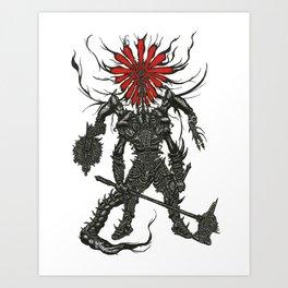 Against Man Art Print