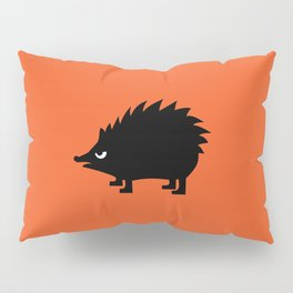 Angry Animals: hedgehog Pillow Sham