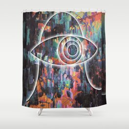 Gazer One Shower Curtain