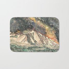 Mount Sopris and the Galaxy Bath Mat