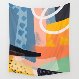 Abstract Sharp Art Pattern Wall Tapestry
