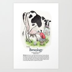 Milk Stout Art Print
