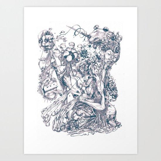 Transmigration  Art Print