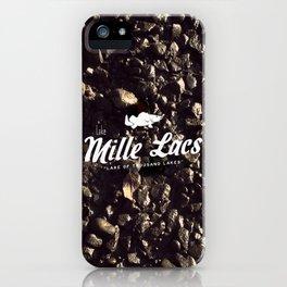 LAKE MILLE LACS iPhone Case