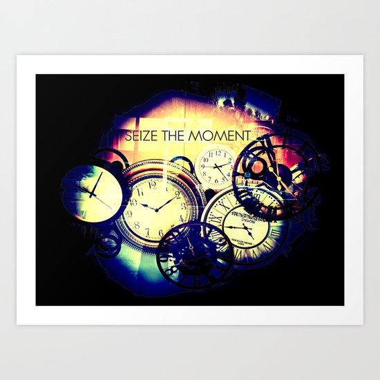Seize the Moment Art Print