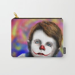 Sad Baby Clown Carry-All Pouch