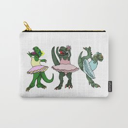 The Ballerina Dinosaurs Carry-All Pouch