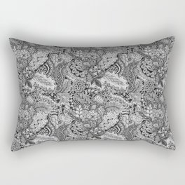 Zentangle®-Inspired Art - ZIA 79 Rectangular Pillow