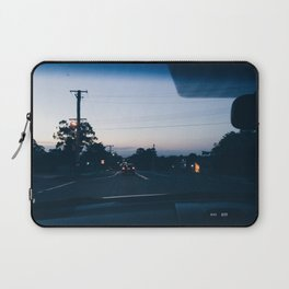 Driving into the sunset Laptop Sleeve