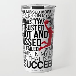 M. Jordan Motivation Travel Mug