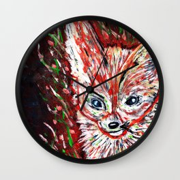 Fennec the Abstract Wall Clock