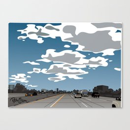 The 405 Canvas Print