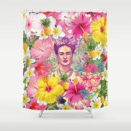 Frida Jungle Shower Curtain