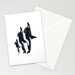 Orca (Orcinus orca) Stationery Cards