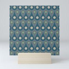 Maggie in Blue Mini Art Print