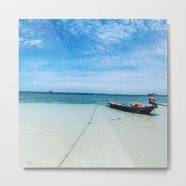Serene beach Metal Print