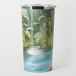 Surreal Landscape Travel Mug