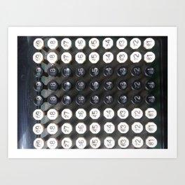 Burroughs Adding Machine 2 Art Print