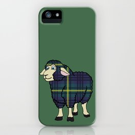 Modern Johnstone Sheep iPhone Case