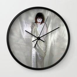 "say no to patriarchy / ""the venus"" Wall Clock"