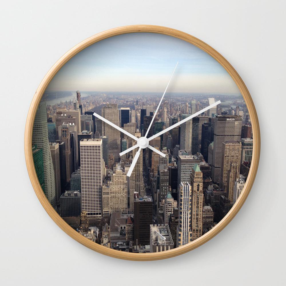 New York I Love You Clock by Lucreziasemenzato CLK929300