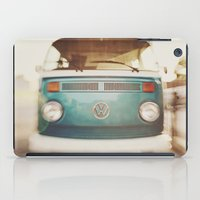 volkswagen iPad Cases featuring Volkswagen Bus by Briole Photography