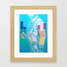 Pump up the jam Framed Art Print