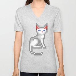 Transcendence Cat Unisex V-Neck