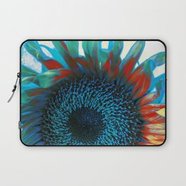 Eye of the Sunflower Laptop Sleeve