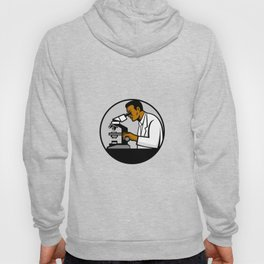 African American Research Scientist Mascot Hoody