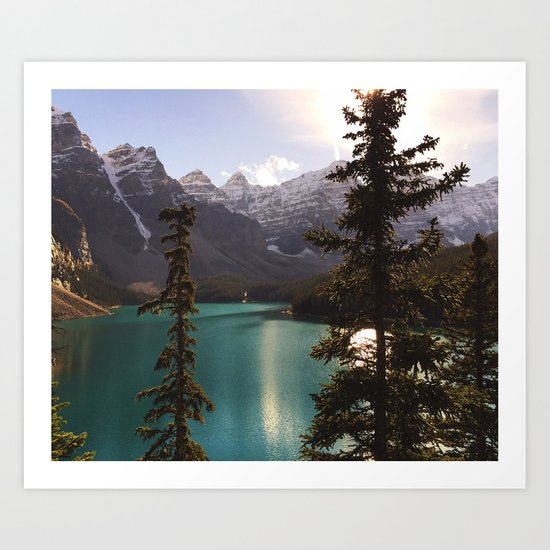 Reflections / Landscape Nature Photography Art Print