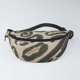 Wild Cats Spots and Stripes Pattern Fanny Pack
