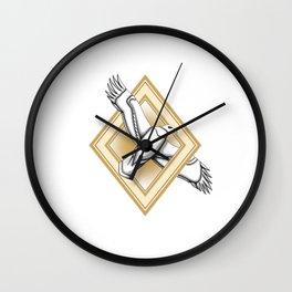Bold eagle usa - LBC Wall Clock