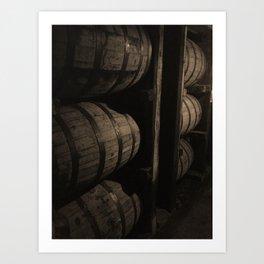 Bourbon Barrels Kentucky Photo Art Print
