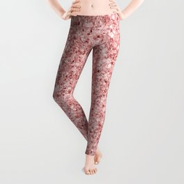A Touch of Pink Glitter Leggings