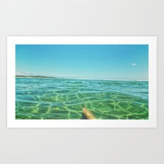 Staycation, yeah right. Art Print