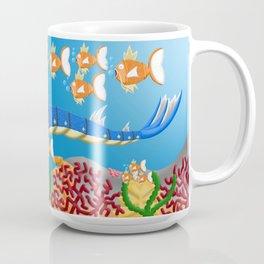 Serpent in the sea Coffee Mug
