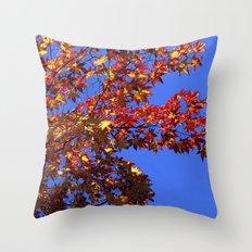 Japanese Maple 2 Throw Pillow