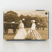 battlefield iPad Cases featuring Strolling on the Battlefield by Frankie Cat