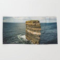 Dun Briste Beach Towel