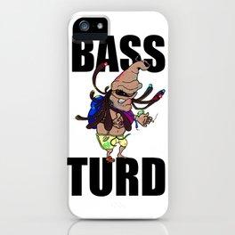 BASS TURD MEME GRAPHIC iPhone Case