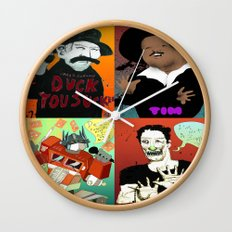 Pop mix of the some of the greats pop culture memories.  Wall Clock