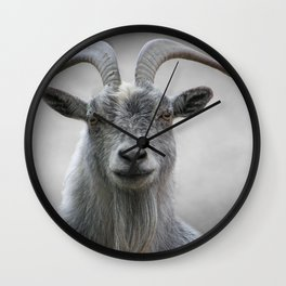 The Old Goat Wall Clock