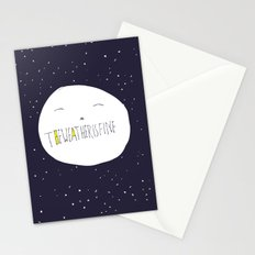 bright side of the moon  Stationery Cards