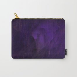 Ultraviolet marble Carry-All Pouch