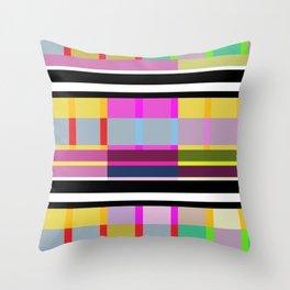 Stripe 7 Throw Pillow