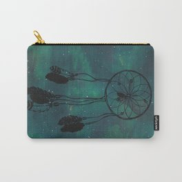 Dreamcatcher (teal) Carry-All Pouch