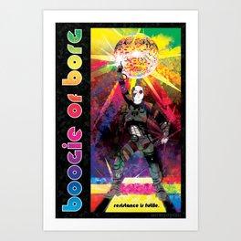 Boogie of Borg Art Print
