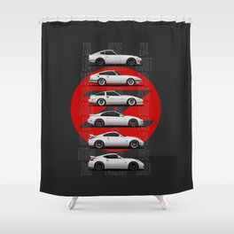Z Generations Shower Curtain